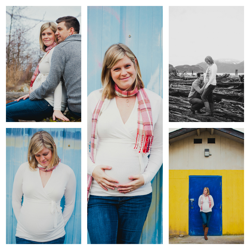 Baby Bump Collage